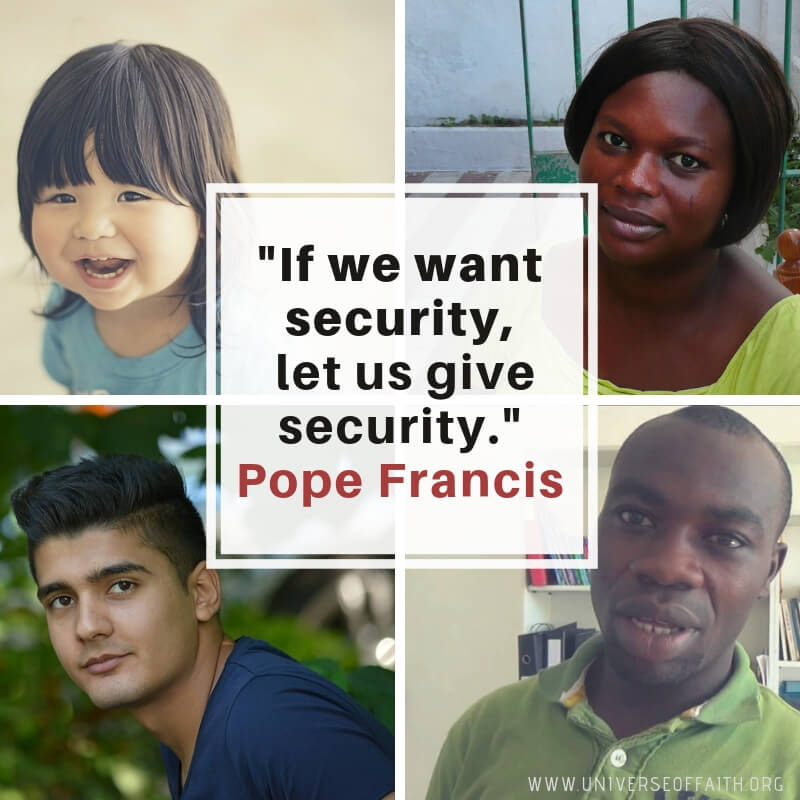 Pope Francis Quotes about migration