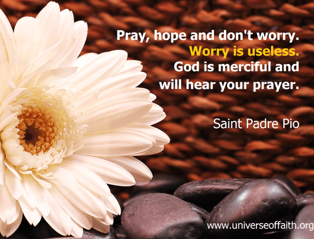 Inspirational Prayer Quotes Padre Pio