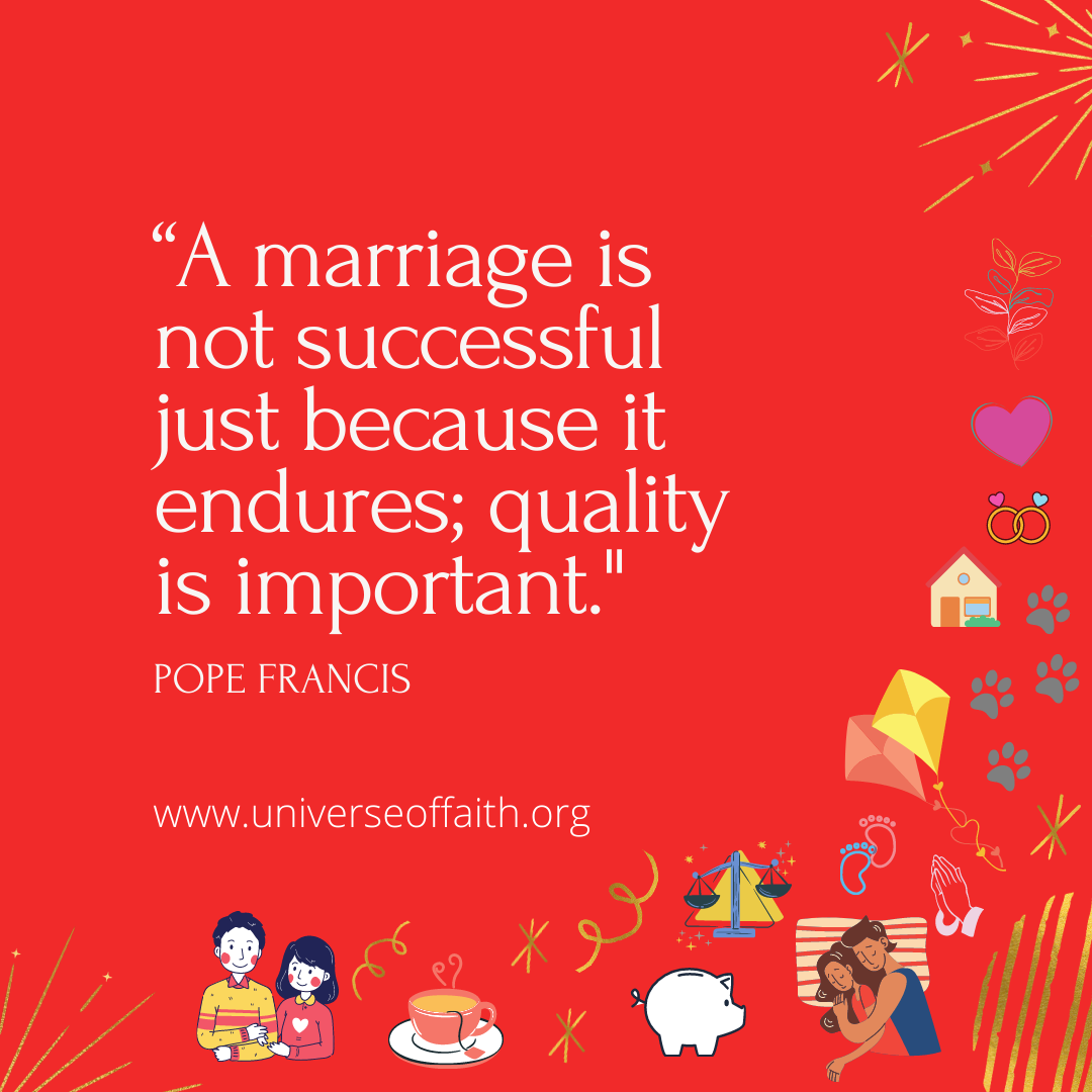Pope Francis Quotes About Marriage