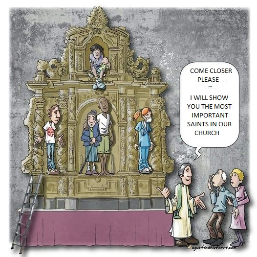 Pope Francis Quotes on saints