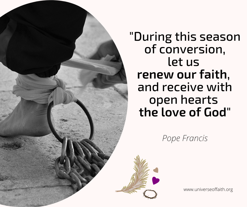 Pope Francis Lent Quote