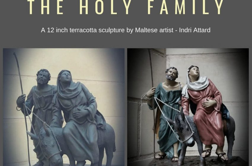 The Holy Family Sculpture By Indri Attard