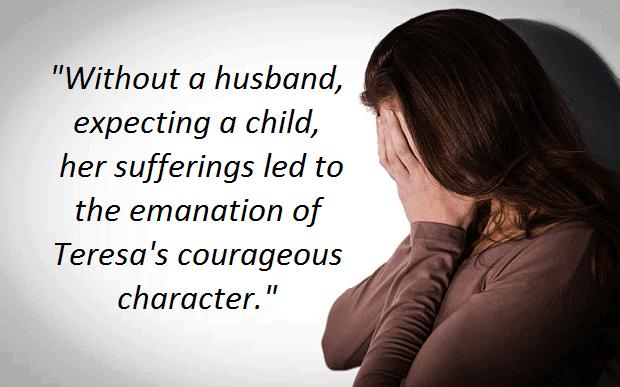Maria Teresa, hopeful in despair