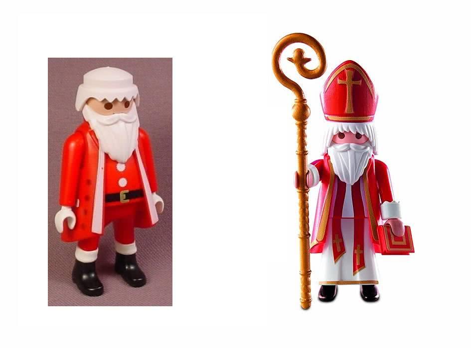 Father Christmas and Saint Nick playmobil