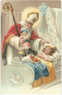Saint Nicholas vintage picture
