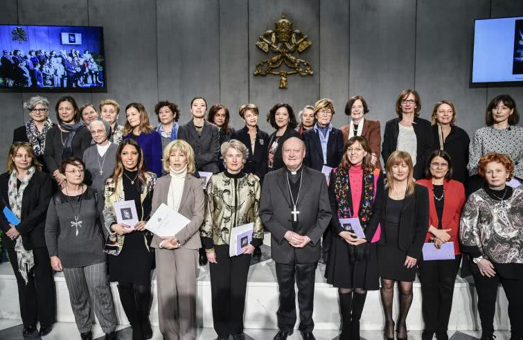 The Women's Consultation Group for the Vatican. Photo: agensir.it