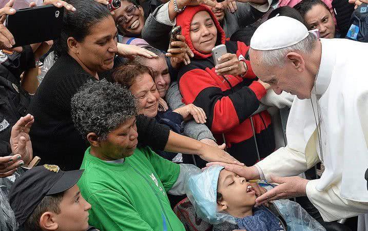 Pope Francis, Rio de Janiero, 2013