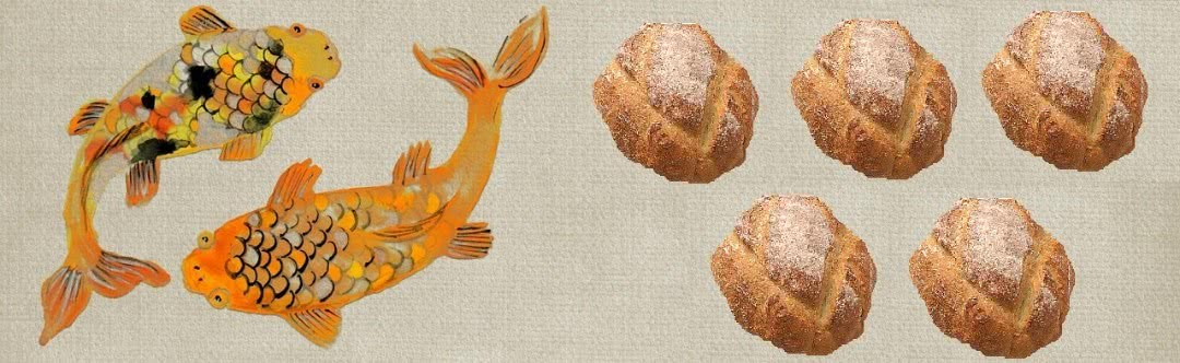 Two fish and five loaves