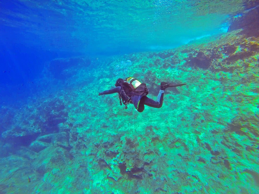 Scuba diving in Maltese waters