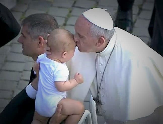 Quotes on Children by Pope Francis and Pope John Paul 2nd. Image: CTV Screenshot