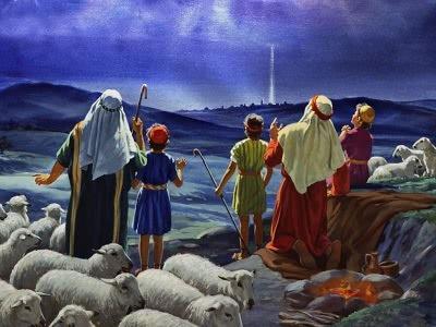 Famous Christmas Characters. Shepherds