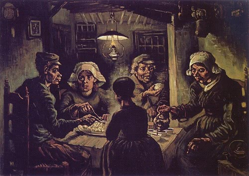 The Potato Eaters, a painting by Vincent Van Gogh
