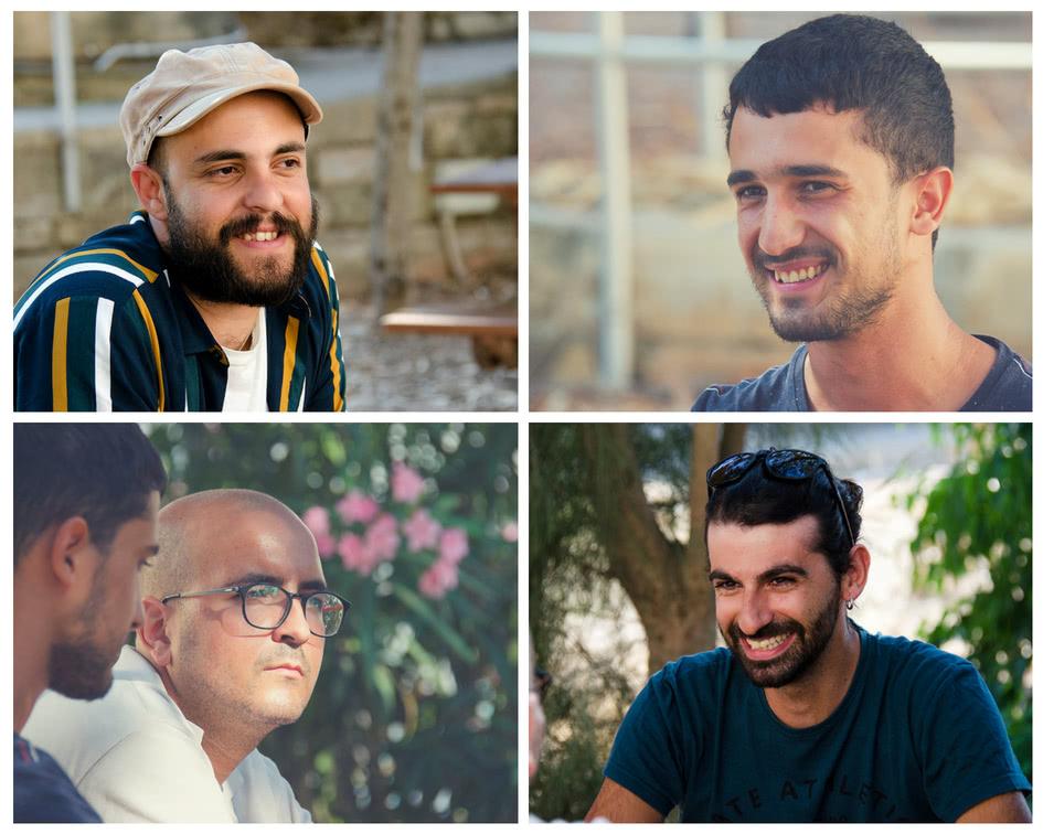 From Top left Robert, Samwel, Mark and Francesco