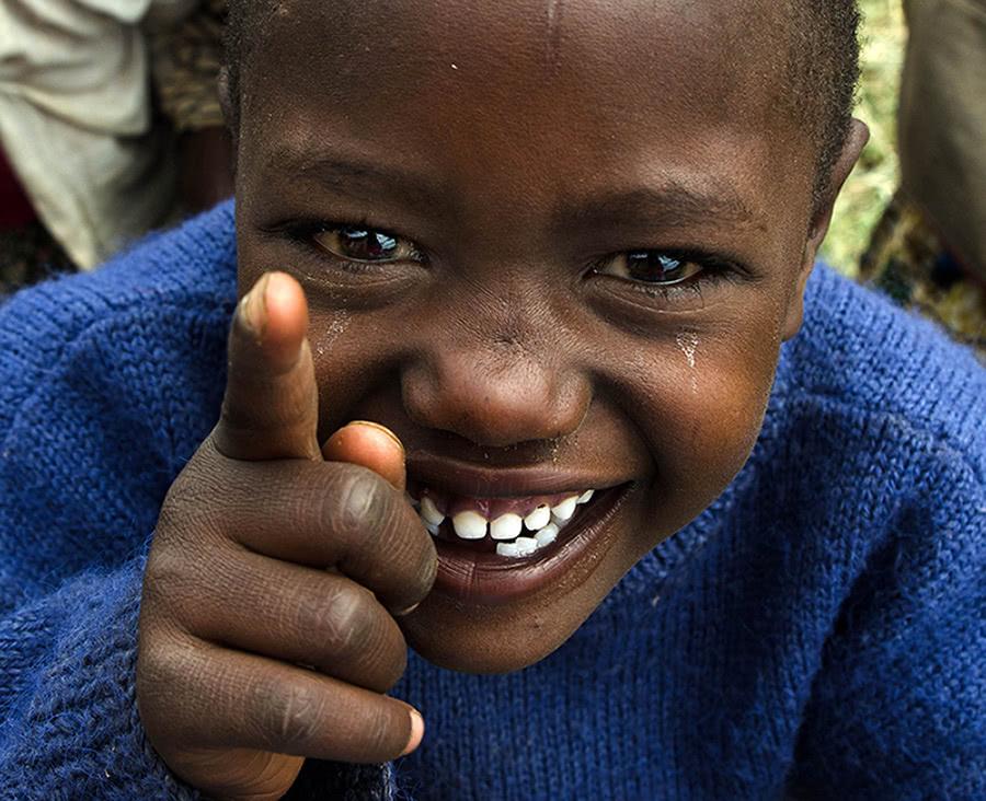 Travel with a purpose, Tanzania child