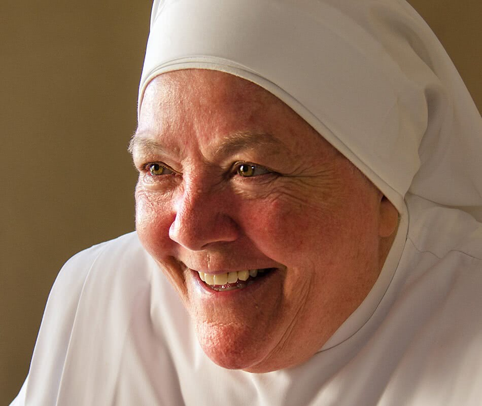 Sr Philomena Reilly, Mother Superior at Little Sisters Of The Poor, Ħamrun, Malta