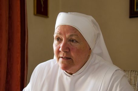 Sr Philomena Reilly, Mother at the Little Sisters Of The Poor Home In Ħamrun, Malta