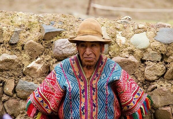 Elderly of Peru. Photo: Christina Gatt