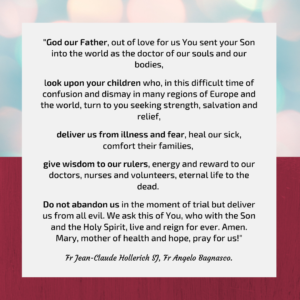 COVID 19 Prayer
