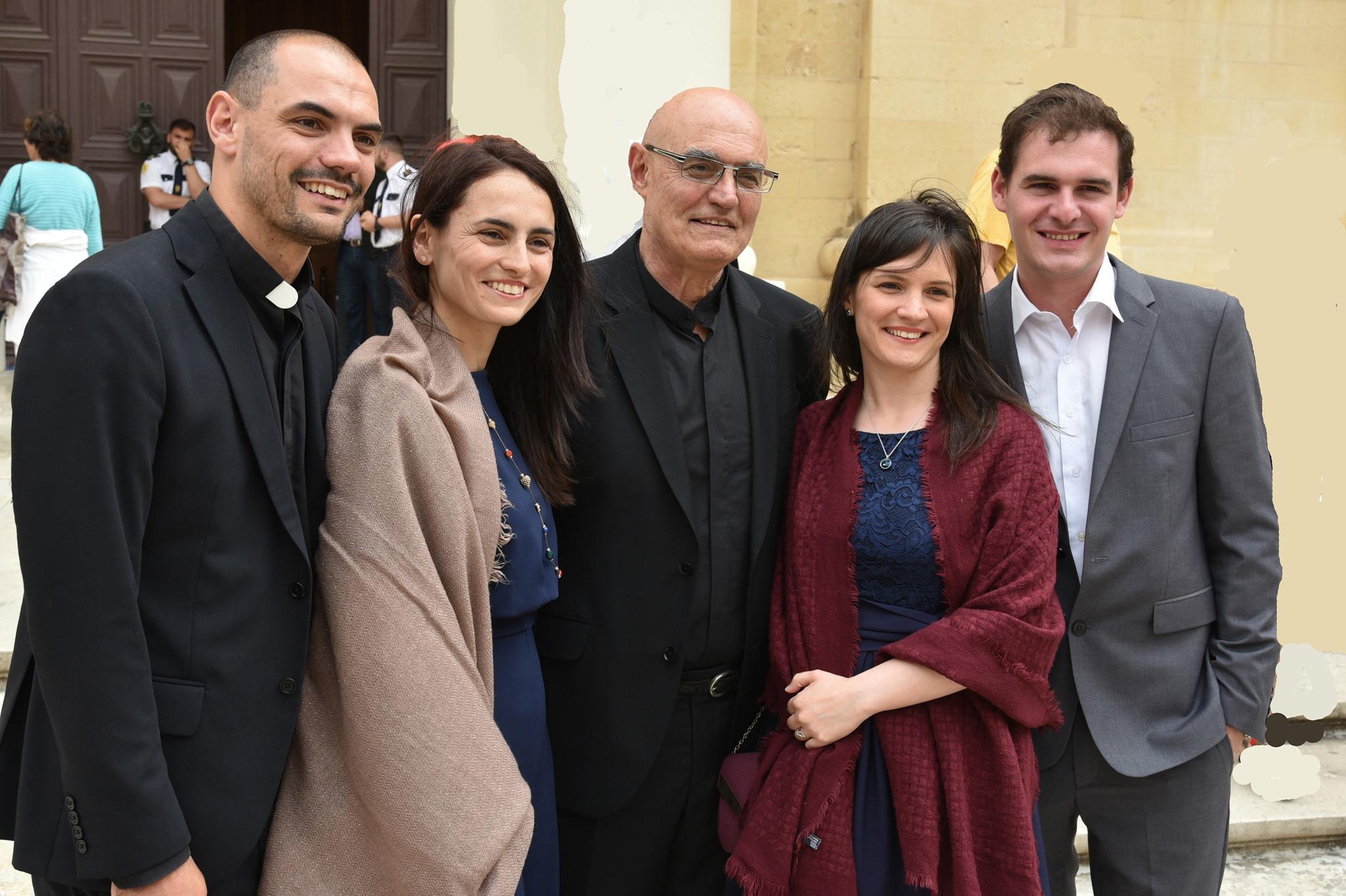 Fr Tony Pace Malta