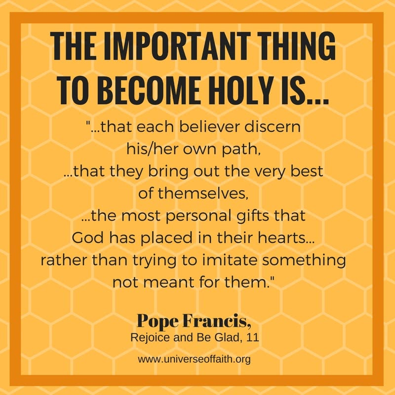 Holiness Quotes - Pope Francis