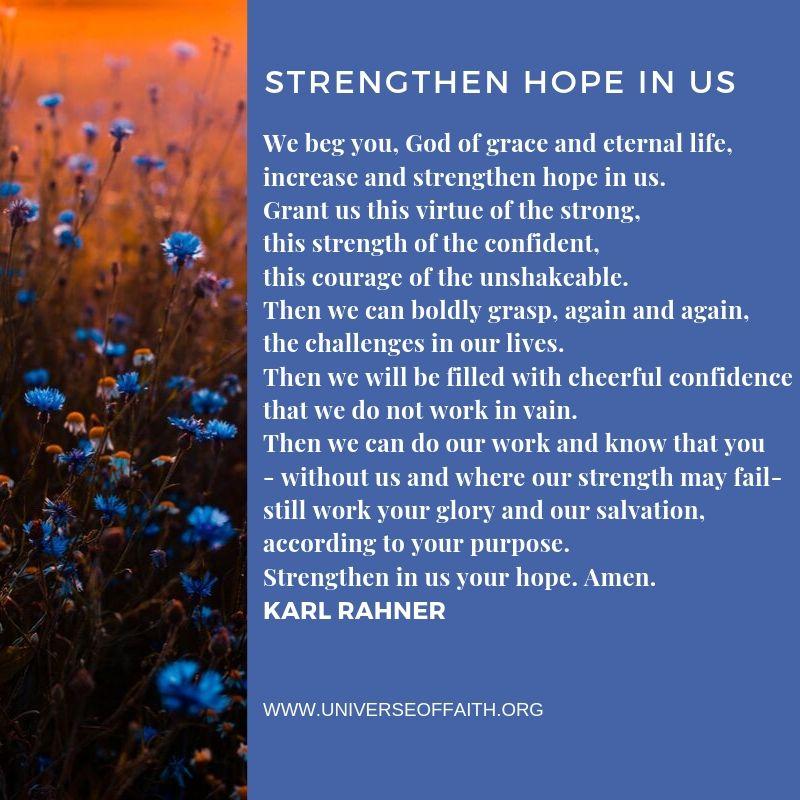 CAtholic Prayers for strentgh