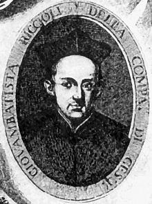 Fr Giovanni Battista Riccioli