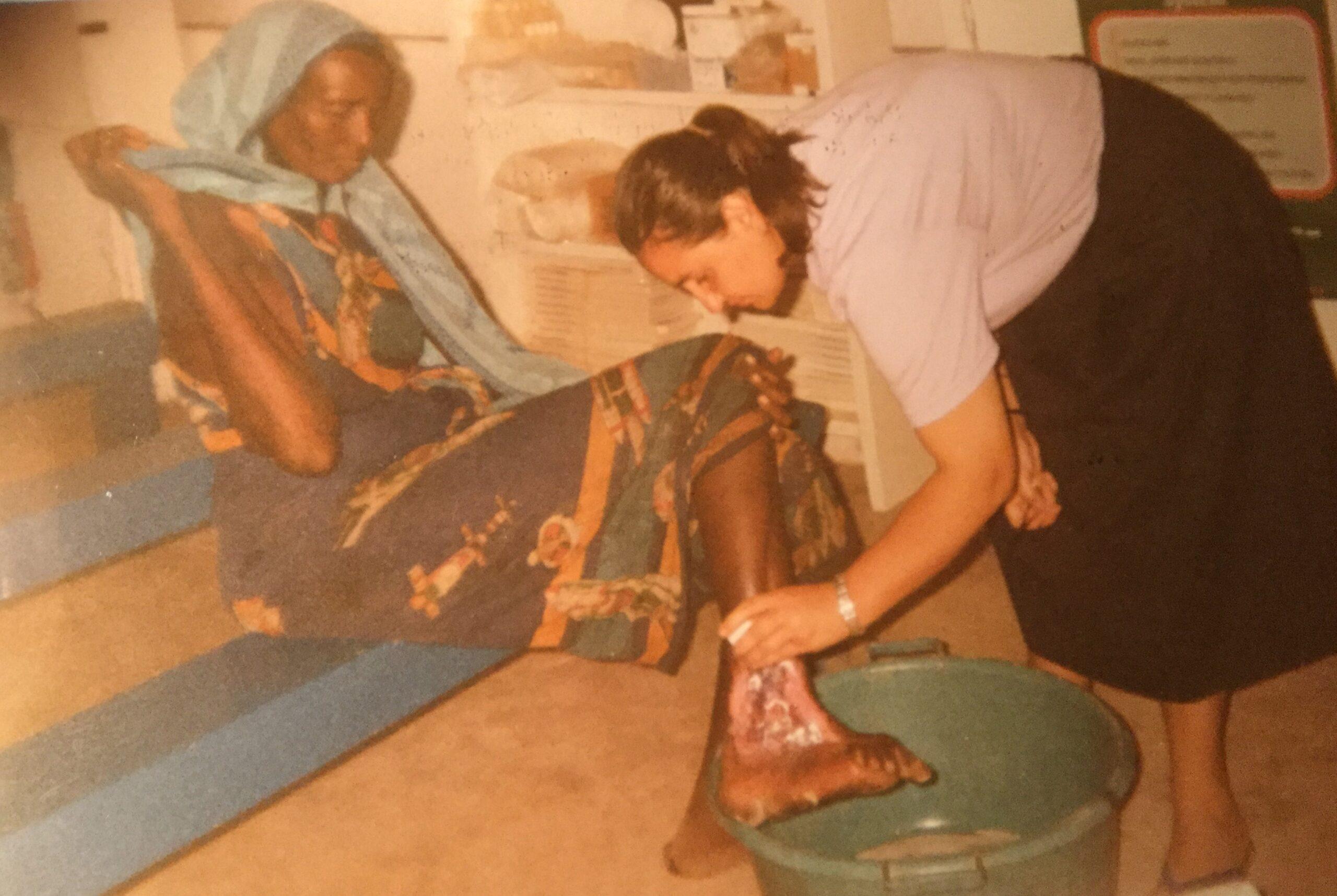 Nursing experince Africa